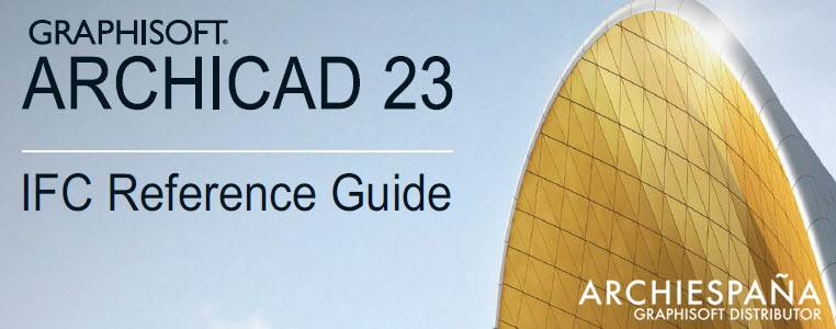 IFC Reference Guide for ARCHICAD 23