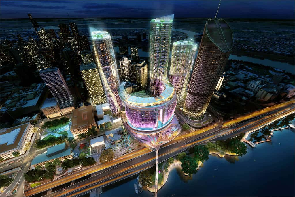The Queen's Wharf project in Brisbane