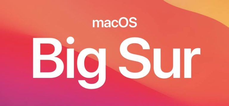 macOS 11 Big Sur-Beta